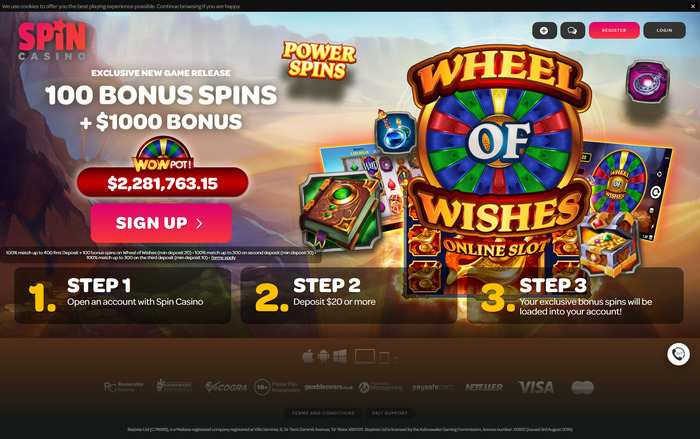 Wheel of Wishes Free Spins